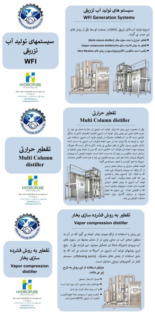 #دستگاه تولید آب تزریقی (WFI)